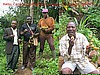 "Batibo, Cameroon: eating ""tikori"" (photo: Njei M.T"