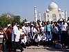 Cameroonian pharmacists At The Taj Mahal, Agra.