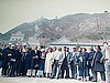 Cameroonians at the Great Wall (photo: Njei M.T)